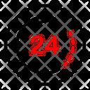 24 H Passage Icon