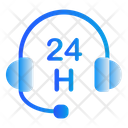 24 H Support Icon