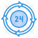 Hour Time Management Hr Icon