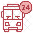 24 Hour Bus Services Icon