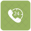 24 hour call Services Icon