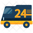 Delivery Van 24 Icon