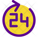 24 Hour Hospital Icon