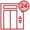 24 Hour Lift Services Icon