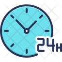 Hour Hour Open Support Icon