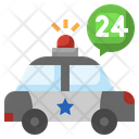 24 Hour Police Services Icon