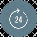 Service Hour 24 Icon