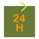 24 Hour Service Icon