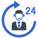 Customer Service 247 Icon