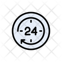 Time Hours Watch Icon