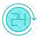 Hour Clock Minute Icon