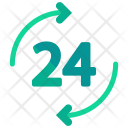 Always Open 24 Icon