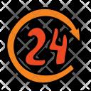 Hour Service 24 Icon