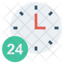 Time Clock Finance Icon