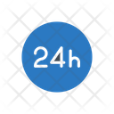 Hours Time Schedule Icon