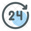 Office Service 24 Hours Icon