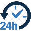 24-Hours Active Icon