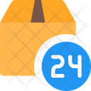 24 Hours Delivery Icon