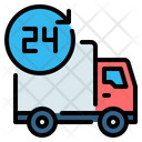 24 hours Delivery Service Icon