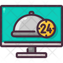 Food Online Service Icon
