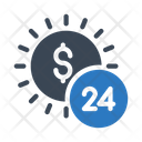 24 Hours Payment Icon