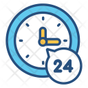 Service Service Hours Icon