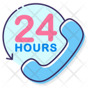 Mh Support Hours Service Hours Support Service Icon