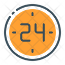 Hours Time Service Icon