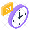 Customer Support Customer Services 24 Hours Service Icon