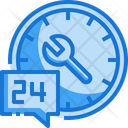Houres Customer Servicew Customer Support Icon