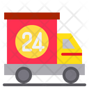 24 Hours Shipping Icon