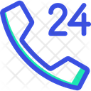 24 Hours Support Support Customer Icon