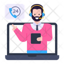Customer Services Call Services Call Agent Icon