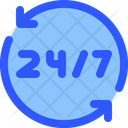 Help Support 247 Icon