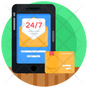 Delivery Service 24 H Delivery 247 Hr Services Icon