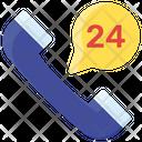 24 Hr Helpline Icon