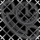 Telecommunication Customer Support Helpline Icon