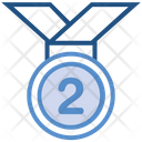 2nd Medal Icon