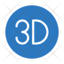 D Display Design Icon