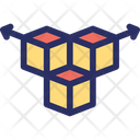 3 D Component Cube Icon
