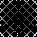3 D Arrows Box Icon