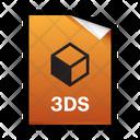3 D 3 Ds Model Icon