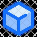 3 D Box Icon