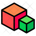3 D Cube Cube Graphic Design Icon