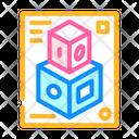 3 D Cube 3 D Modeling 3 D Design Icon