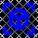 3 D Cube 3 D Design Cube Icon