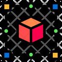 3 D Design 3 D Art Cube Icon