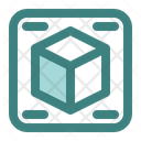 3 D Design 3 D Shape 3 D Cube Icon
