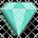 3 D Diamond Icon