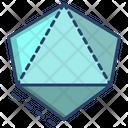 3 D Diamond 3 D Diamond Icon